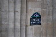 Sign Place Saint-Sulpice