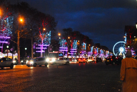 Champs Elysees Christmas time
