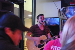February 2012: Our Music Pastor's last show before moving to Oregon