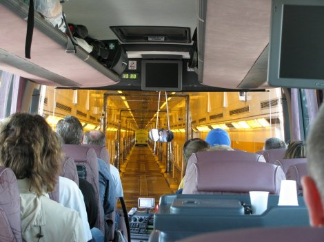 A picture I snagged from BelgiumBarb of the inside view of the chunnel.
