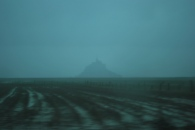 Mont St Michel in the distance...