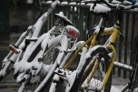 Snowy bike ride, anyone?