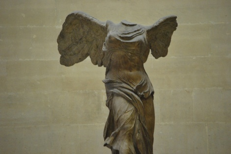 Winged Victory: I speak for us all when I say it's not a win to be armless and headless.