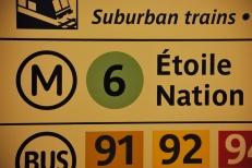 Plan du transport : Transit info