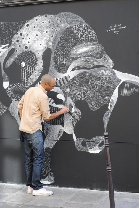 Steer Chalk Art