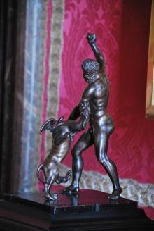 Bronze statuette in Versailles