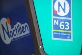 Le Noctilien is Parisian's network of night buses