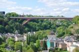 Grand Duchess Charlotte Bridge: 1966